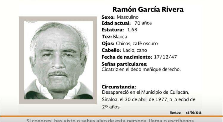 ¿Has visto a Ramón García Rivera?