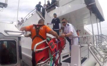 Efectúa Marina rescate frente a la Playa El Divorcio