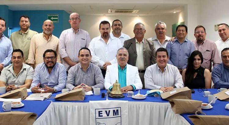 Se reúne Rector de la UABCS con miembros de EVM