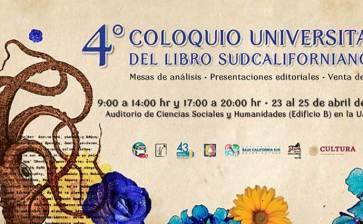 Invitan a Coloquio Universitario del Libro Sudcaliforniano
