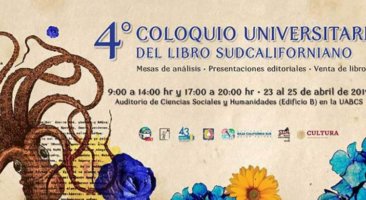 Invitan a Coloquio Universitario del Libro Sudcaliforniano