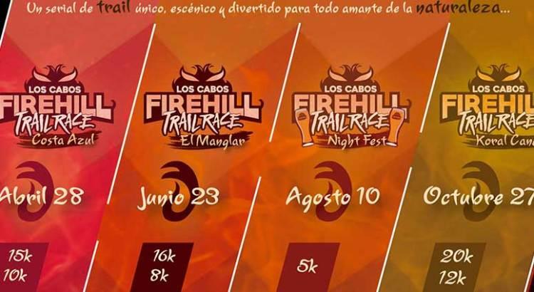 Atrévete a aceptar el reto Firehill Trail Race