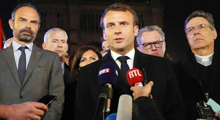 """Vamos a reconstruir Notre Dame entre todos"""