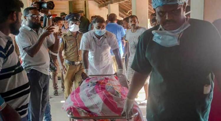 Baño de sangre en Sri Lanka