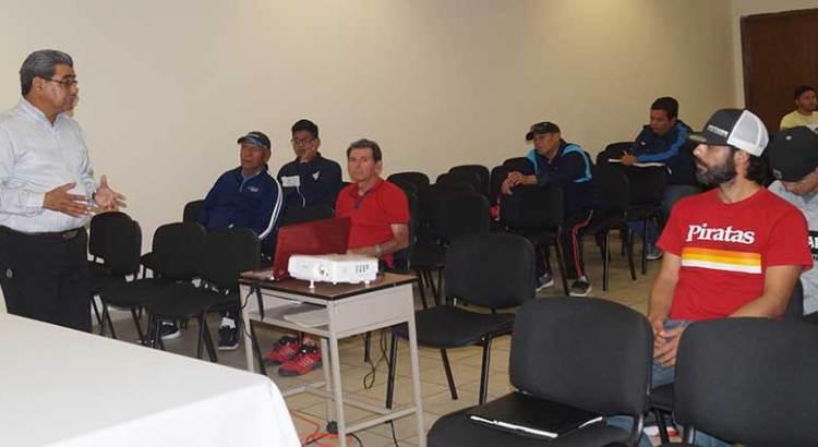 Impartirán Módulo de Formación Deportiva