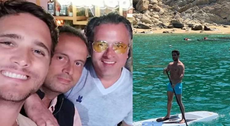 Disfruta Diego Boneta de las playas cabeñas