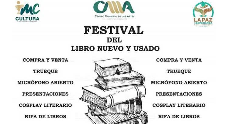 Vamos al Festival del Libro Nuevo y Usado