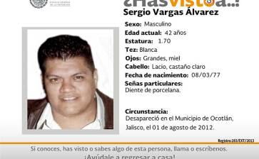 ¿Has visto a Sergio Vargas Alvarez?