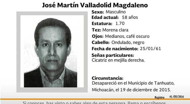 ¿Has visto a José Martín Valladolid?