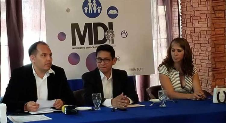 Conforman el Comité Estatal del Movimiento Democrático Independiente