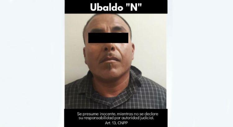 Con cristal agarraron a Ubaldo