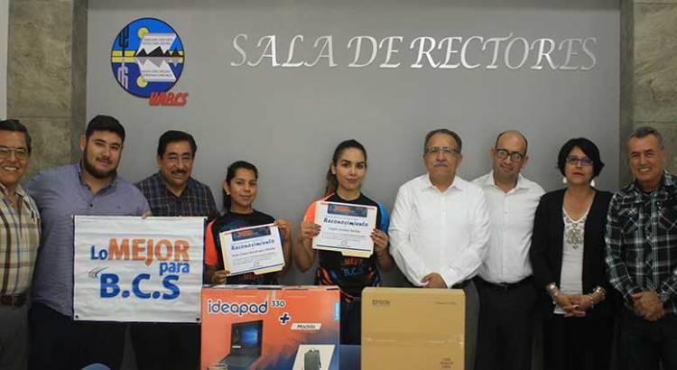 Recibe UABCS reconocimiento de la organización «Lo Mejor para BCS»