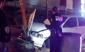 Deja dos lesionados accidente en el bulevar Forjadores