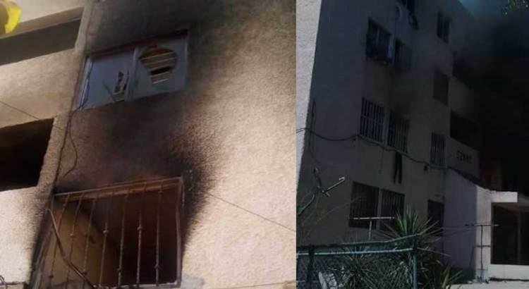 Se incendió departamento en el  Pedregal del Cortés