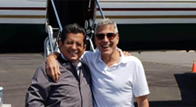 Vacaciona George Clooney en Los Cabos