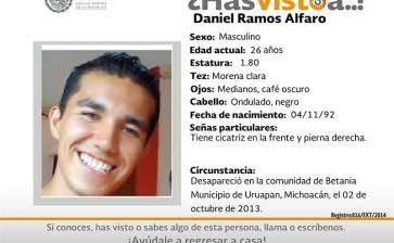 ¿Has visto a Daniel Ramos Alfaro?