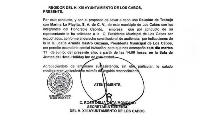 """Invita Grupo Questro a """"dialogar"""" a los regidores cabeños"""