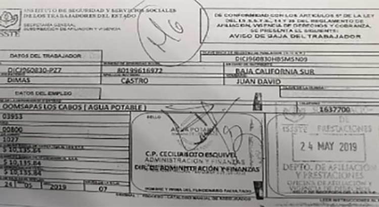 """Nepotismo y """"aviaduría"""" en el Ayuntamiento cabeño"""