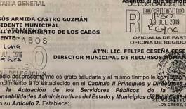 Pide Óscar Leggs separen del cargo al Director de Comunicación