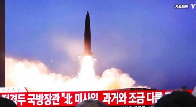 Realiza Corea del Norte nuevo lanzamiento de proyectiles