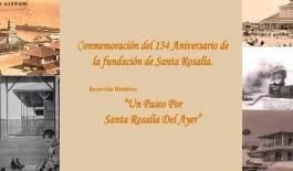 Celebremos el 134 Aniversario de Santa Rosalía