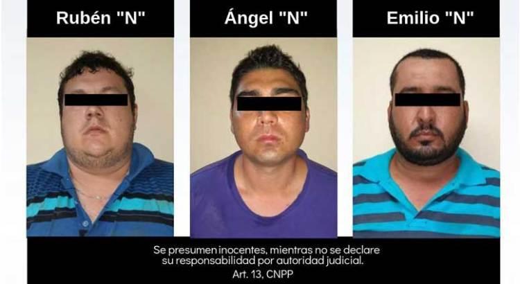 Vinculan a proceso a tres presuntos secuestradores