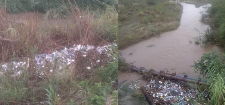 El Estero de San José convertido en un basurero
