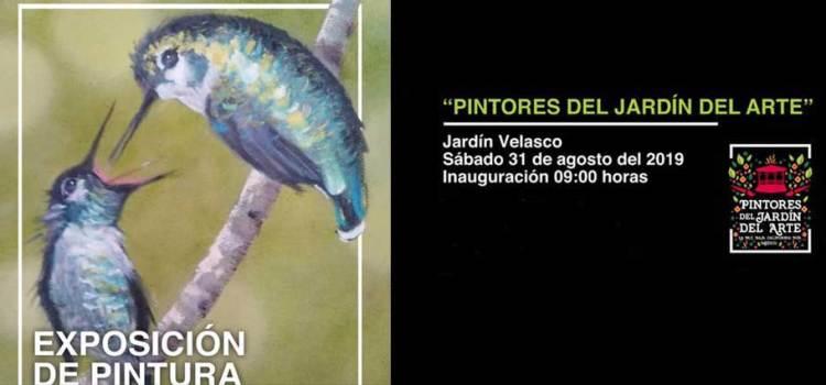 """Invitan a la exposición """"Pintores del Jardín del Arte"""""""