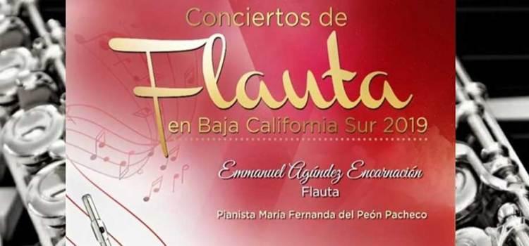 Invitan a concierto de flauta y piano
