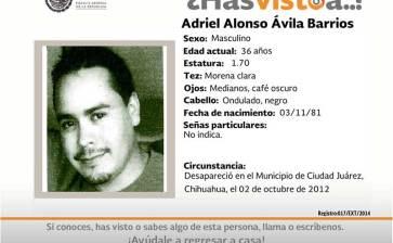 ¿Has visto a Adriel Alonso Avilas Barrios?