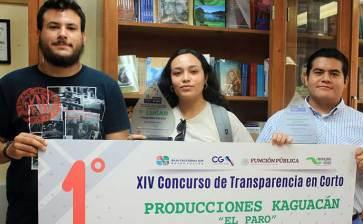 Sobresalen alumnos de la UABCS en concurso de cortometrajes