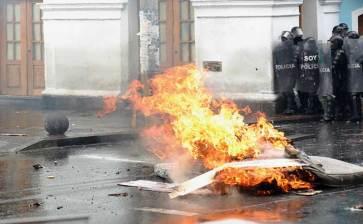 Reina el caos Ecuador