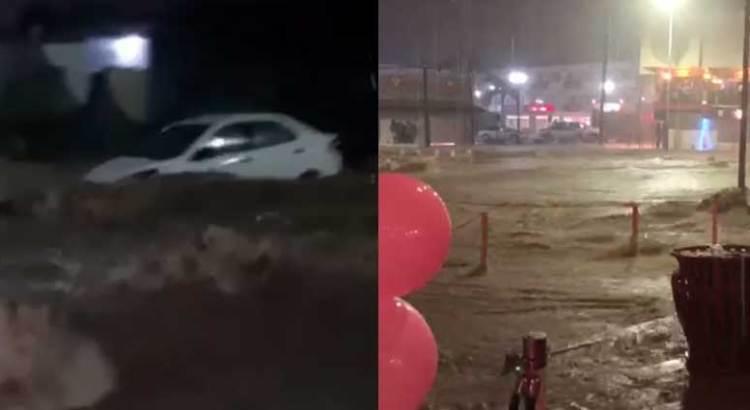 Causaron estragos las lluvias en Los Cabos