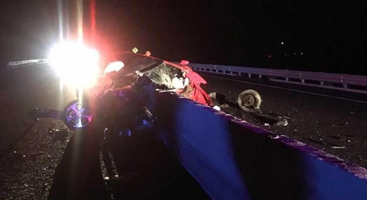 SCT, responsable del fatal accidente en el km 78