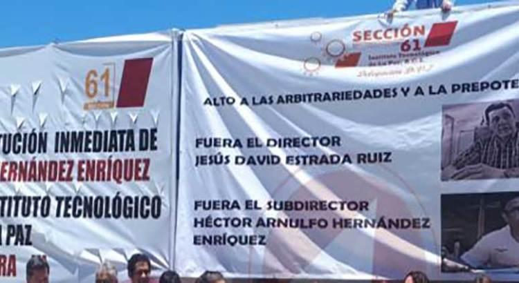 En paro el Tec La Paz