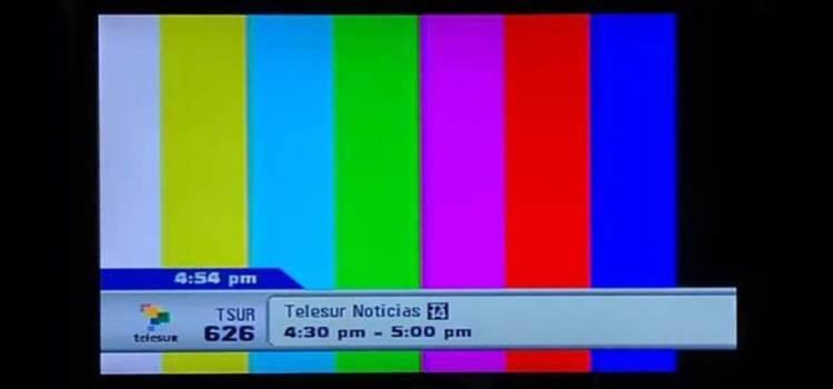 Saca Ecuador del aire la señal de Telesur
