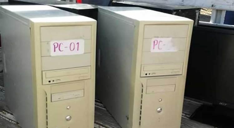 """""""Una burla"""" las computadoras entregadas a la primaria 15 de Mayo"""