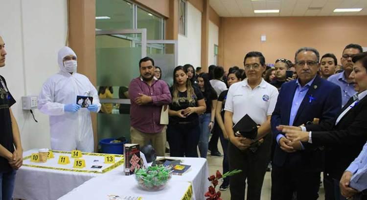 Celebran en la UABCS el Día del Criminólogo