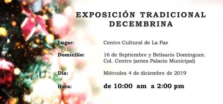Invitan a tradicional exposición pictórica decembrina