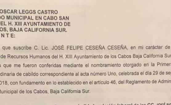 """""""Desmantelan"""" el gobierno de Oscar Leggs"""
