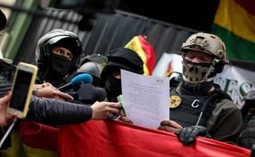 Expresa México preocupación por Bolivia