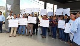 Se manifestaron trabajadores de Walmart  Los Cabos