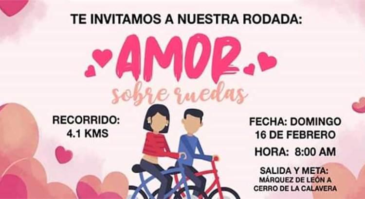 "Súmate a la rodada ""Amor Sobre Ruedas"""