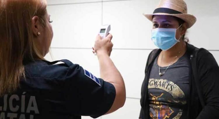 Implementan filtro de salud en el Aeropuerto Internacional de La Paz