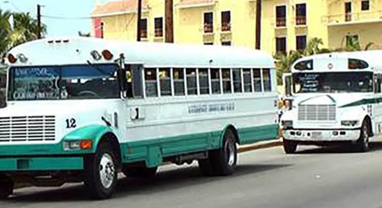 Que reduzcan el número de pasajeros en peseras y camiones