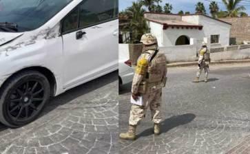 La chocaron militares … y cambiaron la versión ante el perito