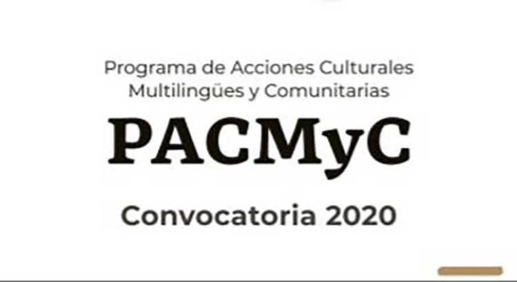Convocan al PACMyC 2020