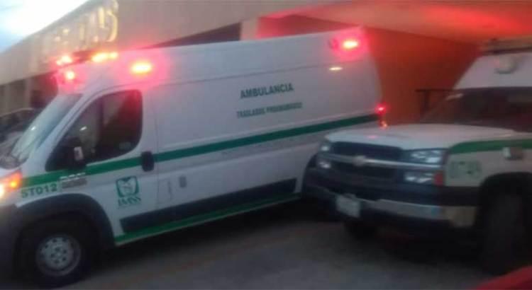 Por problemas respiratorios ingresan a bebé al IMSS