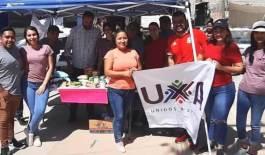 Coloca UxA centro de acopio en la colonia Las Palmas