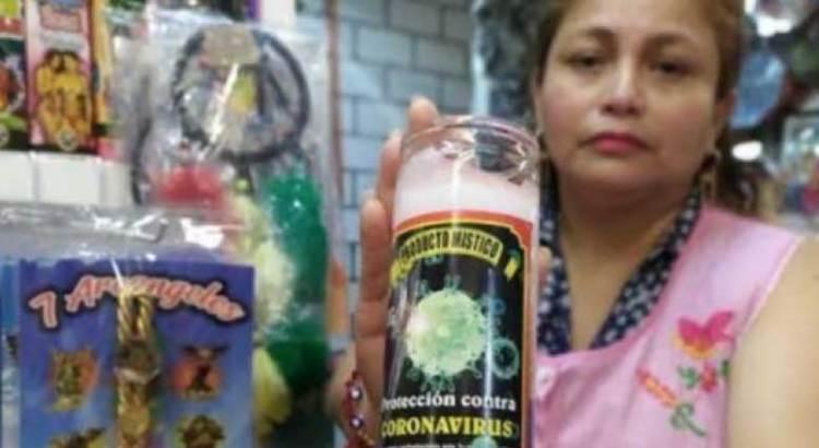 Llévela, llévela… la veladora contra el coronavirus